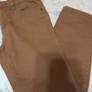 EUC !!!!! Boys Old Navy Slim E Trot Jean Tan